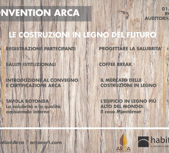 Arca Convention 1 marzo 2019