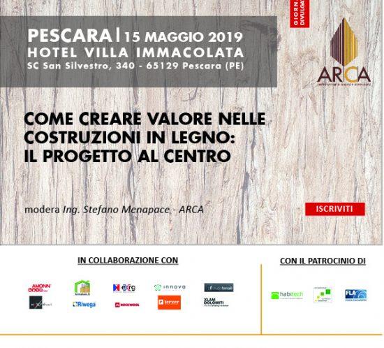 ARCA in Tour 2019 PESCARA locandina