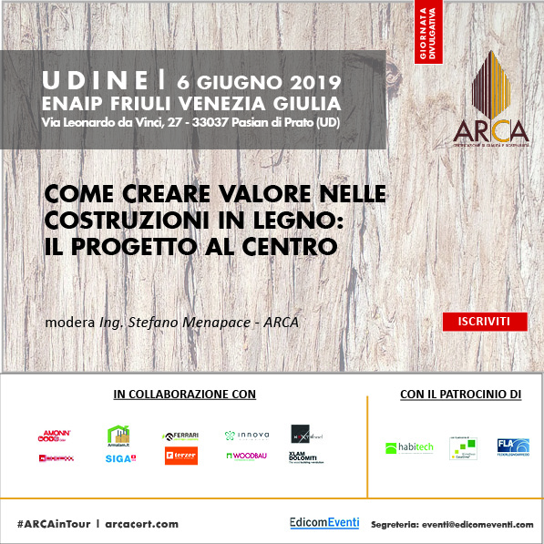 ARCA in Tour 2019 Udine locandina